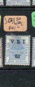 ORANGE FREE STATE  (P0406B)  TREE   VRI 6D/6D  SG 120   MOG