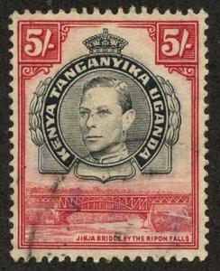 Kenya-Uganda-Tanganiyka, Scott #57, Used