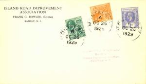 Montserrat 1/2d KGV Symbol of the Colony Overprinted War Stamp in Black, 2 1/...