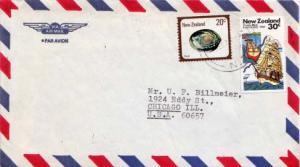 New Zealand, Airmail, Ships, Marine Life