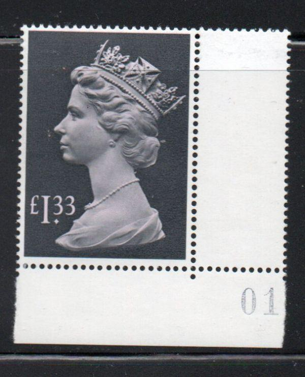 Great Britain Sc MH171 1984 £1.33 Machin Head stamp mint NH