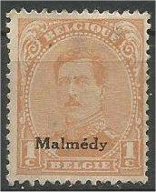 GERMAN, 1920, MH 1c, MALMEDY ISSUE, Scott 1N42