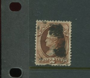 Scott 135A Jackson I-Grill Used Stamp    (Stock 135-A5)