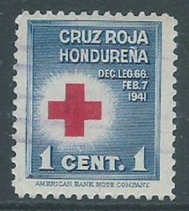 Honduras, Sc #RA1, 1c Used