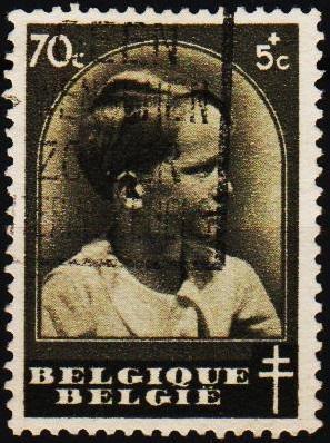 Belgium. 1936 70c+5c S.G.781 Fine Used