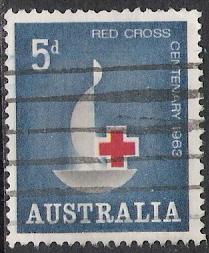 Australia #354 Red Cross Used
