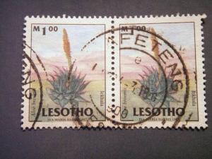 Lesotho 1998, Flowers used M 1.00 SG 1527