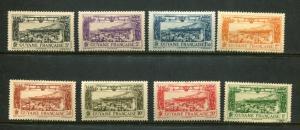French Guiana #C1-8 Mint