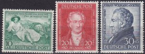 Germany #B306-8  MNH CV $32.00  (Z8035)