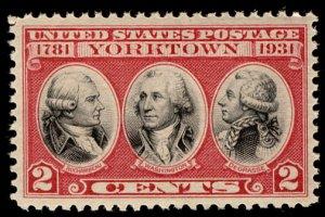 US #703 SUPERB mint never hinged,  large even margins,  wonderful stamp, a ve...