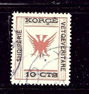 Albania 58 Used 1917 issue