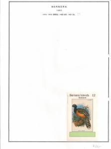 SCOTLAND - BERNERA - 1982 - Birds (51) - De Luxe Sheet - MLH