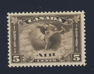 Canada Air Mail Stamp  #C2-5c MNG VF Guide Value = $50.00