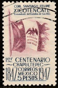 MEXICO 836, $5P 1847 Battles Centennial. Used. VF. (654)