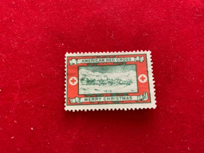Christmas Seal WX13 Mint No glue From 1913