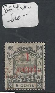 NORTH BORNEO (P2501B)   1C/5C  SG 64   V FU