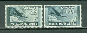 ITALY  1933  AIR #CE3-4...SET MINT...7.00