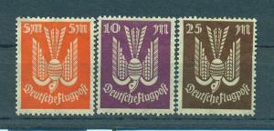 Germany sc# C15-19 mh cat value $1.25