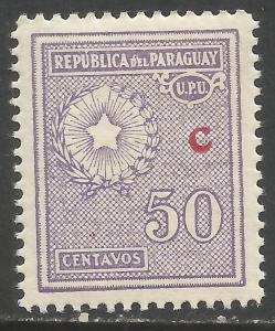 PARAGUAY L17 MOG A1098-4