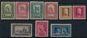 Bosnia & Herzegovina #B9-10, 11-7*  CV $8.10