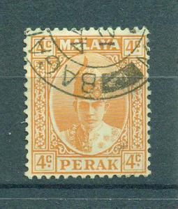 Malaya - Perak sc# 86 used cat value $.25
