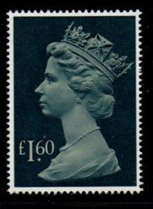 Great Britain Sc MH174 1987 £1.60 QE II Machin Head stamp mint NH