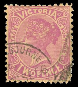 Australia / Victoria Scott 220a Variety Gibbons 435 Used Stamp