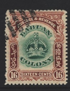 Labuan Sc#105 Used