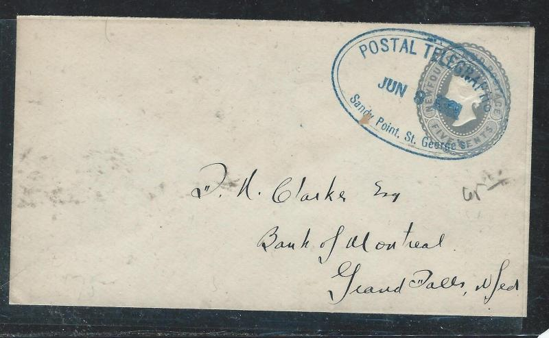 NOVA SCOTIA  (P2906B)QV 5C+1CX3 COVER TO AMHERST