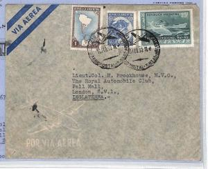 XX348 1952 ARGENTINA Buenos Aires GB London Contents Royal Automobile Club