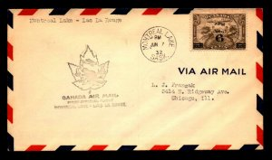 Canada 1932 FFC Montreal Lake to Lac La Rouge - L7954