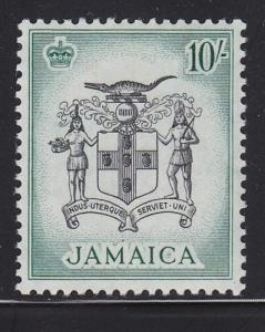 Jamaica Scott # 173 VF mint lightly hinged scv $ 33 ! see pic !