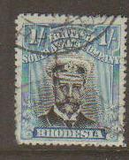 Rhodesia #130a Used