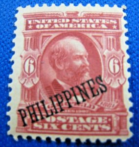 PHILIPPINES 1903  -  SCOTT # 231  -  MLH                (Hp13)