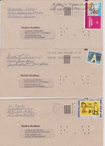 CANADA COVERS ODDITIES CENDERELLAS STAMPS LOT#C-202
