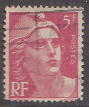 France 542a Hinged Used 1947 Marianne