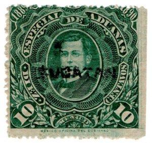 (I.B) Mexico Revenue : Customs Duty 10c (Yucatan)