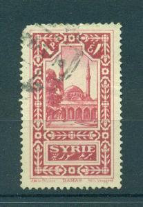 France Colony Syria sc# 177 used cat value $.25