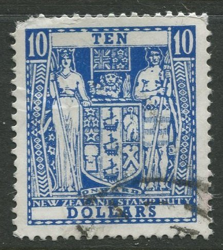 STAMP STATION PERTH New Zealand #404Da Decimal Currency Issue Used 1967 CV$10.00