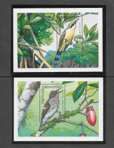 BIRDS - GRENADA GRENADINES #1198-99   MNH