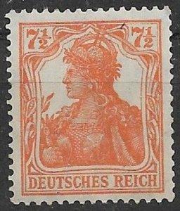 Germany 1916  1918 Germania Mi 99a mint mnh