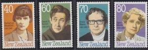 New Zealand 946-949 MNH (1989)