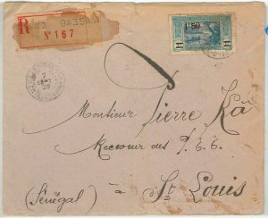 44838 - IVORY COAST Côte d'Ivoire - POSTAL HISTORY - REGISTERED COVER to SENEGAL