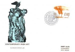 Ireland, Worldwide First Day Cover, Art, Birds