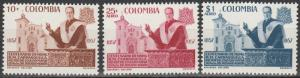 Colombia #696, C315-6  MNH (S9582)