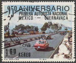 MEXICO C544 25th Anniversary of 1st National SuperHighway USED (830)