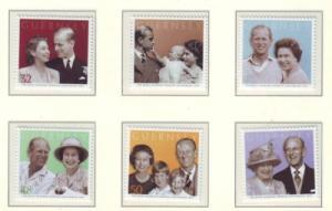 Guernsey Sc 946-1 2007 Royal Anniversary stamp set mint NH