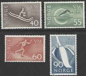 Norway #486-489 MNH Set of 4 cv $6.50