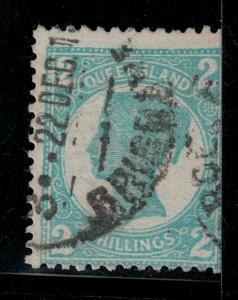 Queensland 1897-1900 SC 122 Used SCV $50