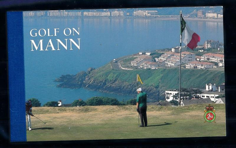 [58290] Isle of Man 1997 Golf Prestige booklet MNH